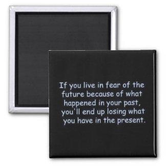 Las palabras de la sabiduría comentan negro de los imán de frigorifico
