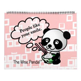 Las palabras del personalizable de la sabiduría calendarios