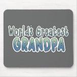 Las palabras más grandes del abuelo del mundo tapetes de raton