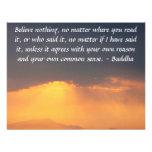 Las palabras sabias de la sabiduría del Buda citan Anuncios