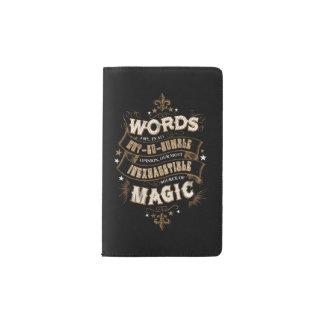 Las palabras son nuestra fuente más inagotable de funda para libreta y libreta pequeña moleskine