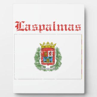 Las Palmas City designs Display Plaques
