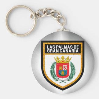 Las Palmas de Gran Canaria Flag Keychain