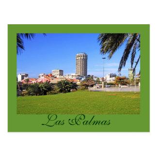 Las Palmas, Gran Canary Island, Spain Postcard