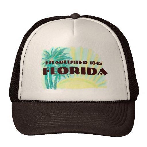 Las palmas soleadas de la Florida establecieron el Gorra