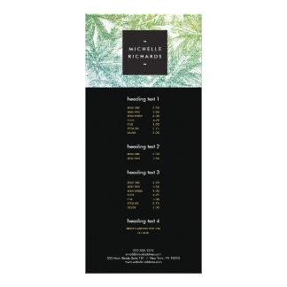 Las palmas tropicales del brillo del verde/de la lona personalizada
