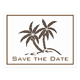 Las palmeras gemelas ahorran la postal de la fecha