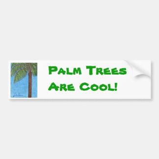 Las palmeras son pegatina para el parachoques fres pegatina para auto