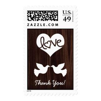 ¡Las palomas del amor le agradecen! (marrón Envio