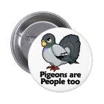 Las palomas son gente también pin