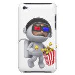 las palomitas del astronauta 3d flotan en espacio iPod Case-Mate cárcasas