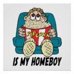 Las palomitas son mi poster del Homeboy