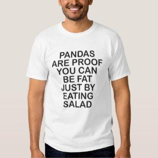 LAS PANDAS SON PRUEBA QUE USTED PUEDE SER FAT CAMISAS