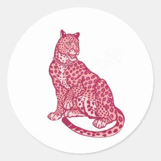 Las panteras rosadas pegatinas