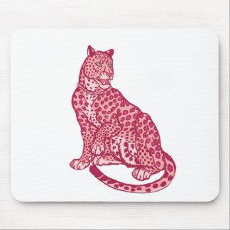 Las panteras rosadas tapete de ratones