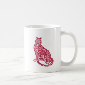 Las panteras rosadas taza de café