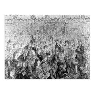Las paradas, ópera del jardín de Covent Tarjeta Postal