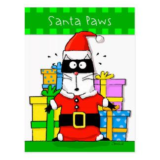 Las patas de Santa asustaron el calendario del Postal