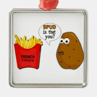 ¿Las patatas fritas de la patata son que usted? Ornamento De Reyes Magos