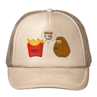 ¿Las patatas fritas de la patata son que usted? di Gorros Bordados