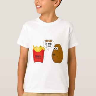 ¿Las patatas fritas de la patata son que usted? Remeras