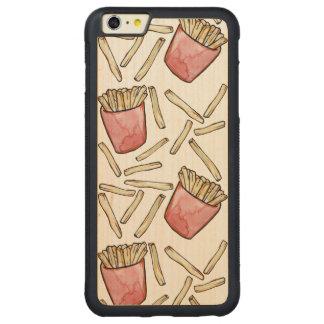 Las patatas fritas son impresionantes funda para iPhone 6 plus de carved® de nogal