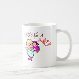 Las pecas son besos del ángel tazas de café