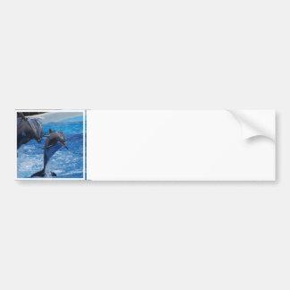 Las pegatinas para el parachoques de salto del del pegatina de parachoque