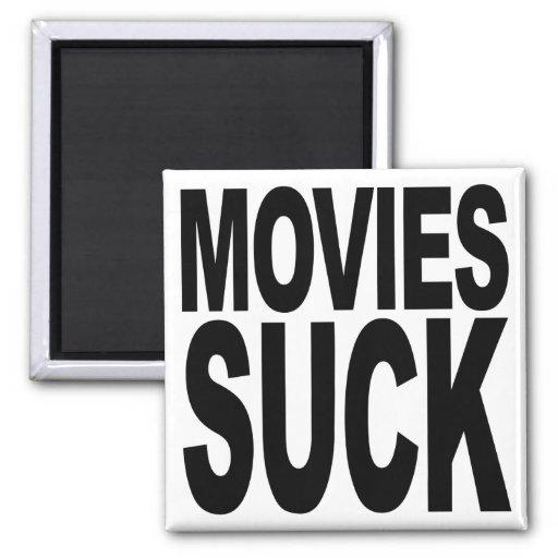Las películas chupan iman de nevera