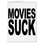 Las películas chupan tarjeta