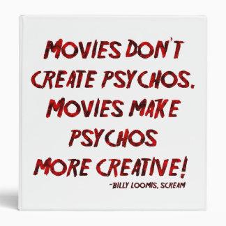 """Las películas de Falln no crean Psychos Carpeta 1 1/2"""""""