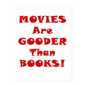 Las películas son Gooder que los libros Tarjeta Postal