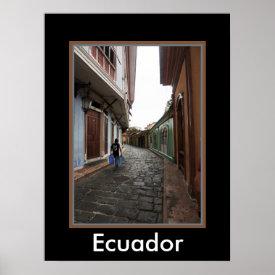 Las Penas-Water Carrier - Cobblestone Road-Ecuador