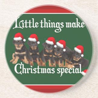 Las pequeñas cosas hacen navidad especial posavasos cerveza