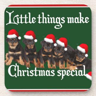 Las pequeñas cosas hacen navidad especial posavasos