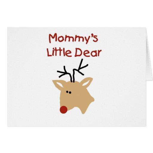 Las pequeñas estimadas camisetas y los regalos de  tarjeta de felicitación