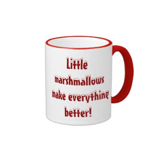 Las pequeñas melcochas hacen todo una mejor taza