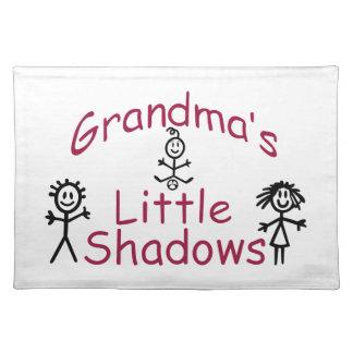 Las pequeñas sombras de la abuela manteles individuales