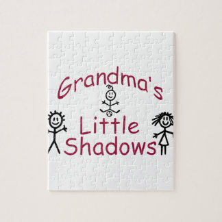 Las pequeñas sombras de la abuela puzzle con fotos