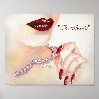 """""""Las perlas!""""  impresión 8x10 Póster"""