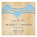 Las perlas y las flores ahorran la fecha invitan,  comunicado personal