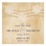 Las perlas y las flores ahorran la fecha invitan,  comunicados