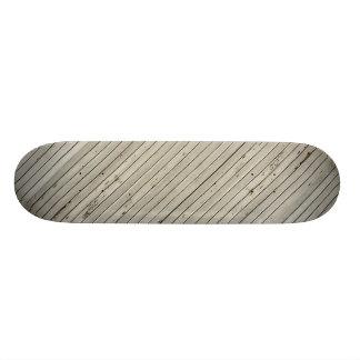 Las persianas dañadas texturizan tiras horizontale monopatín personalizado