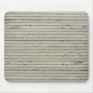 Las persianas dañadas texturizan tiras horizontale tapete de ratón