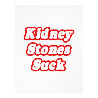 """Las piedras de riñón chupan folleto 8.5"""" x 11"""""""