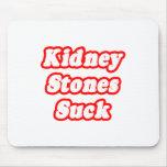 Las piedras de riñón chupan tapetes de raton