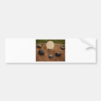 Las piedras dicen todos etiqueta de parachoque