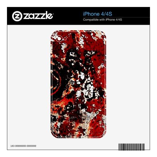 Las pieles del segador debajo de la piel del teléf skins para iPhone 4