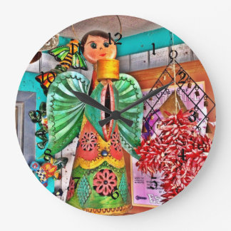 Las pimientas de chile colgantes del arte del meta relojes