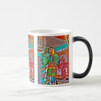 Las pimientas de chile colgantes del arte del meta taza de café